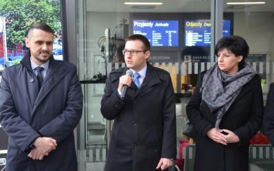 Nowy dworzec PKP oficjalnie otwarty