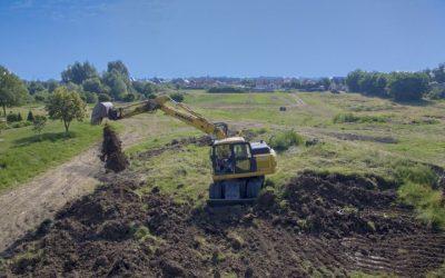 Rozpoczęło się tworzenie nowego parku miejskiego na Jeziorku
