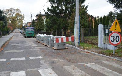 Remont ulicy S. Borodzicza