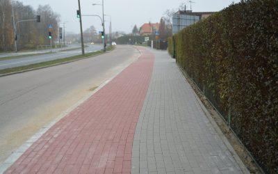 Przedłużenie ciągu dla pieszych i rowerzystów przy ul. Tatarskiej