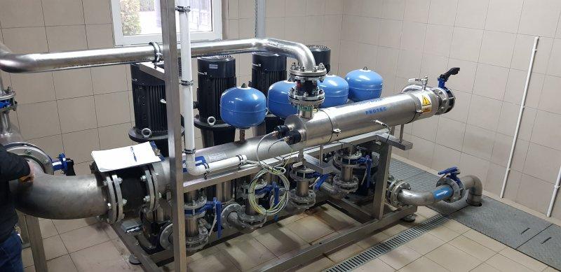 Miejskie wodociągi z nowoczesną inwestycją w jakość wody