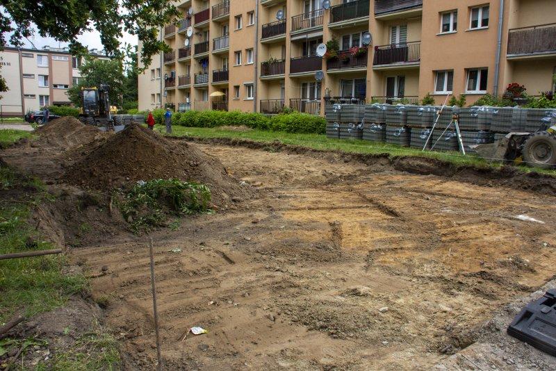 Budowa miejsc parkingowych przy ul. Hallera