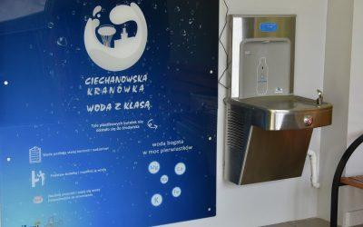 Urządzenia do dystrybucji wody w miejskich szkołach