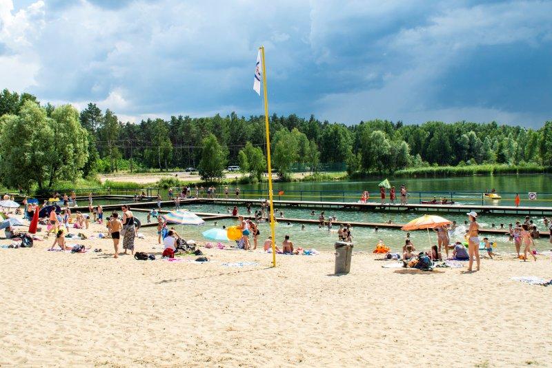 Sezon kąpielowy w Ciechanowie
