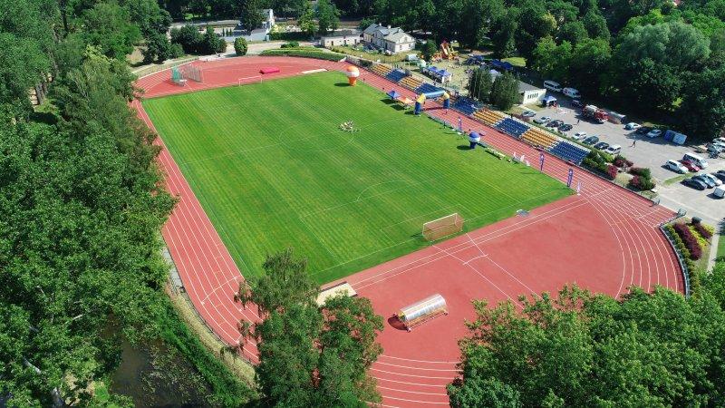Miasto pozyskało 2,5 mln zł na nowy budynek zaplecza sportowego na stadionie