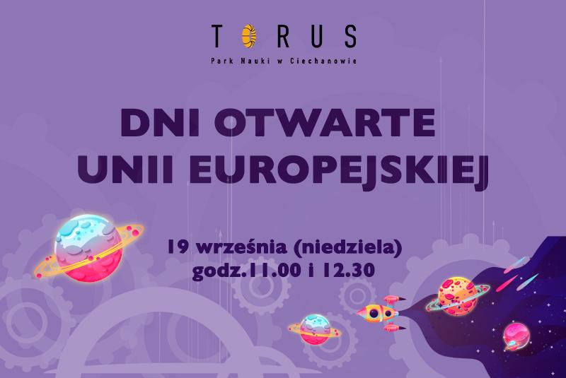Dni Otwarte Funduszy Europejskich w Parku Nauki Torus