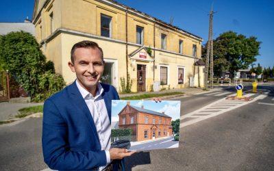 Odnowienie zabytkowego budynku przy Fabrycznej coraz bliżej